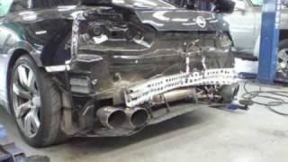 Nissan GT-R Crash (6 new crashes)