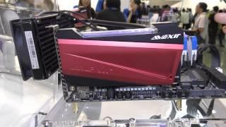 Avexir visar entusiastkomponenter med gasbelysning och LED-belyst 2,5-tums SSD