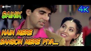 Hai Mere Saason Mein Mere Piya 1080p || Sainik Movie Song || Akshay Kumar Aswini Bhave  Sad Romantic