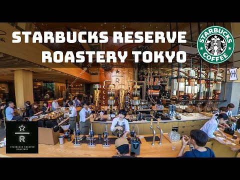 World's Largest Starbucks! Tokyo, Japan - Reserve Roastery - 4K Walkthrough 2019