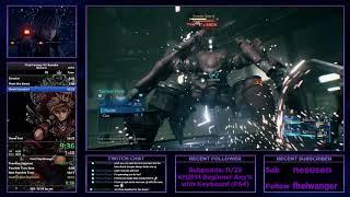 Final Fantasy VII Remake Demo Speedrun in 16:21 (Former WR; PB)