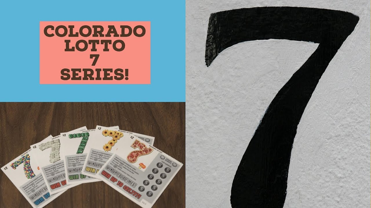 BUNCH OF 7's!! COLORADO LOTTO 7 SERIES SCRATCH TICKETS