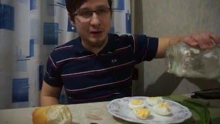 Еда Человека: яйца с майонезом