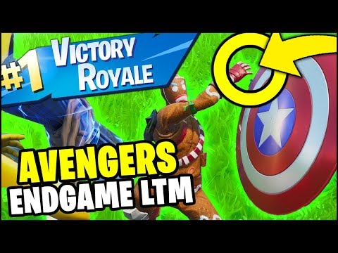 Fortnite *NEW* ENDGAME LTM VICTORY ROYALE GAMEPLAY (10+ ELIMINATIONS AVENGERS x FORTNITE)