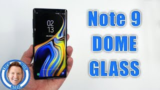 Galaxy Note 9 Whitestone Dome Glass Installation and Review