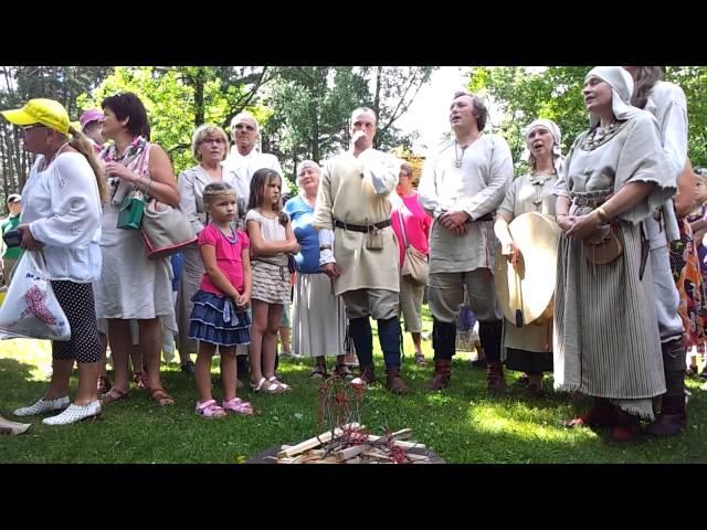 """Vidrižu folkloras kopa """"Delve.Br?vdabas muzejs.R?ga.Latvija.06.07.2013. Mob.video. Neliels ieskats."""