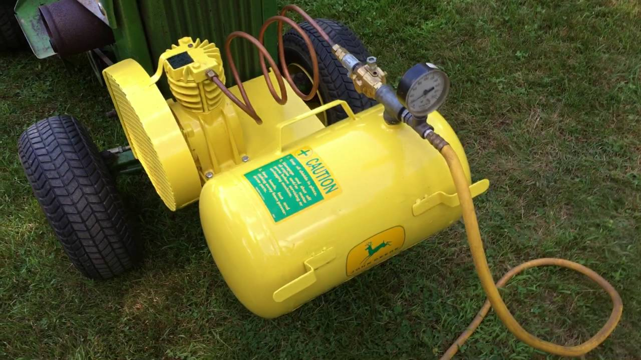 John Deere Air Compressor >> John Deere Air Compressor Project Part 4 Finish