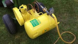 john deere air compressor project part 4 finish