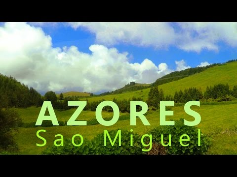 Sao Miguel - Azores 2015 The unique island in the Atlantic Ocean  - GoPro Gimbal