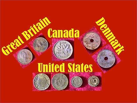 I Found Coins From Four Countries!