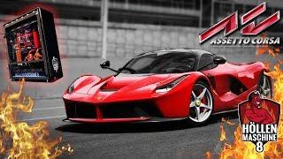 Assetto Corsa: Profi-Racing auf der Höllenmaschine 8 gegen 72 KI-Gegner! | #Gaming-PC