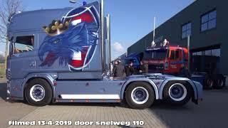 2e retro trucktour 2019,  het verzamel punt