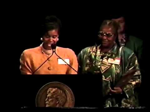 Bernice Johnson Reagon & Judi Moore Latta - Wade in the Water - 1994 Peabody Award Acceptance