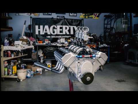 Starting Our Rebuilt Hemi V8 Engine For the First Time | Chrysler Hemi FirePower