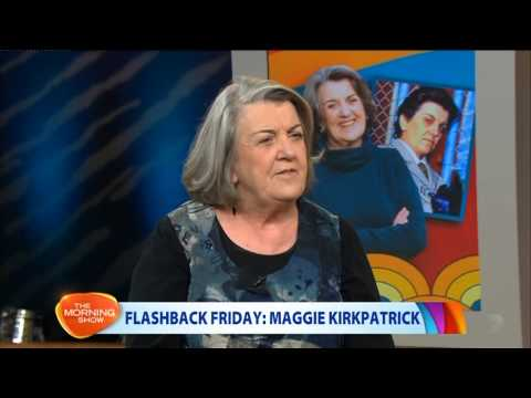Maggie Kirkpatrick - Flashback Friday on The Morning Show 2013