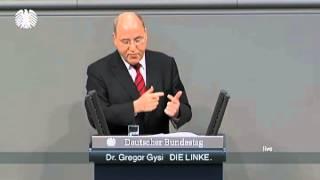 Gregor Gysi, DIE LINKE: »Die Riester-Rente ist ein Hohn«