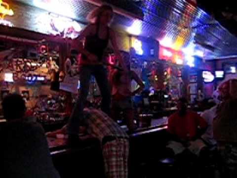Coyote ugly spank
