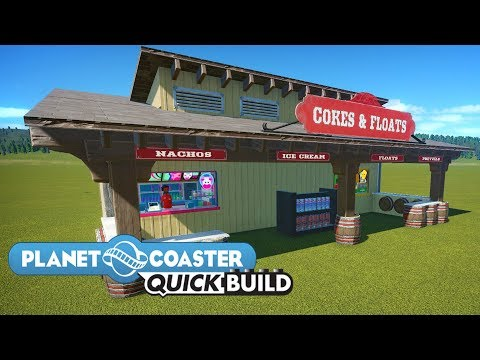 Planet Coaster Quick Build | Cokes and Floats |