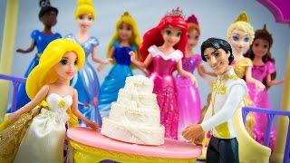 Disney Princess Toys Rapunzel Little Kingdom Fairytale Wedding Gift Set Tangled
