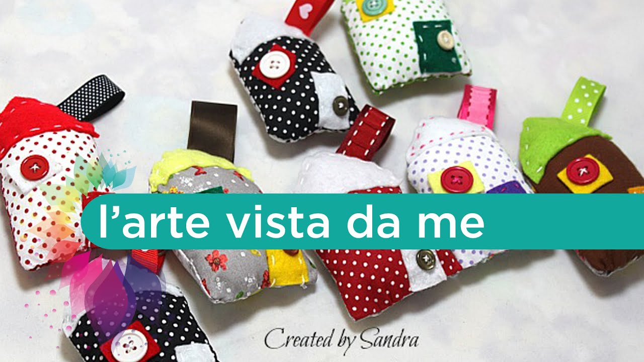 Riciclo creativo tutorial casette di stoffa imbottite for Cucito creativo youtube