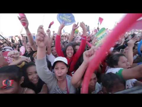 DUTERTE IN TOLEDO CEBU Dinumog ng Napakaraming supporters Campaign Highlights April 2 2016