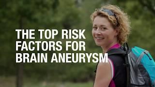 The top risk factors for brain aneurysm