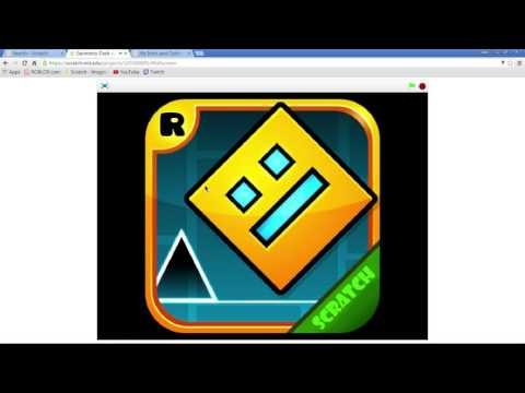 Geometry Dash V1.5 On Scratch