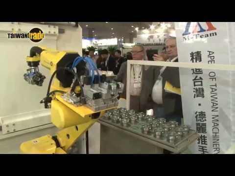 Taiwan's Machines Running Around The Globe