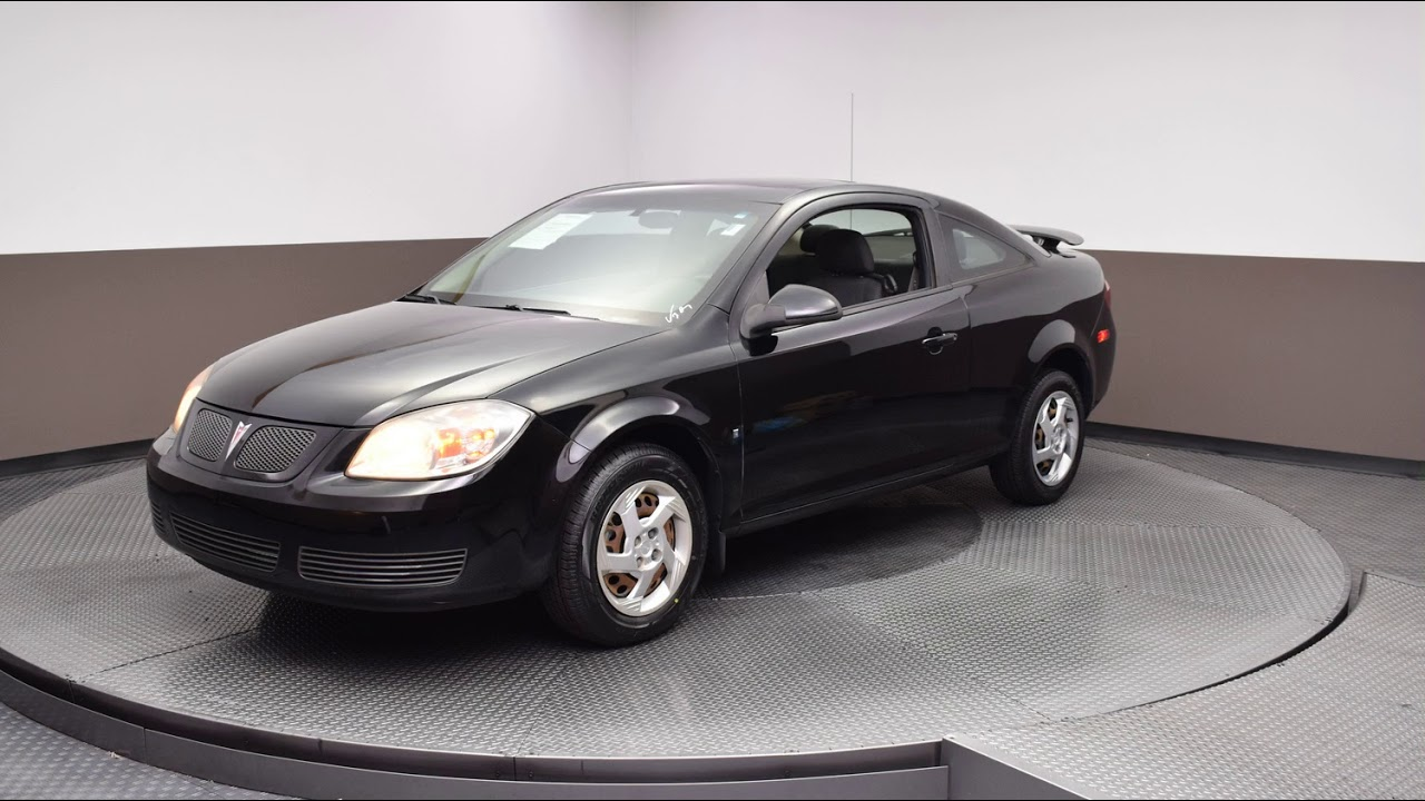 hight resolution of 2007 black pontiac g5 2d coupe 9991a
