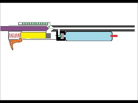 mecanismo de rifle de aire comprimido
