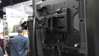 Gator Frameworks LCD 2 Stand - Tripod for TV Screems at NAMM 2016