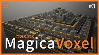 MagicaVoxel 系列 ep.3 Export u0026 Bake | 匯出大合集?! | 三米 SamMi