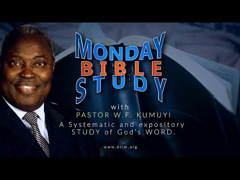 Bible Study (November 9, 2020) || Building Together with God in View of Eternity