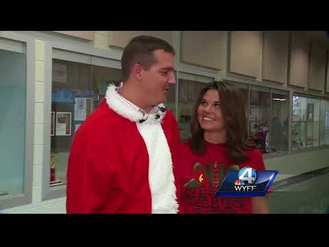 Spartanburg County school teacher surprised with marriage proposal