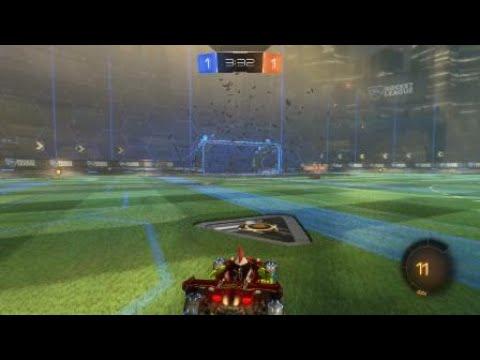 Rocket League® solo standard ball control