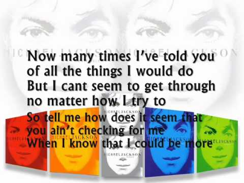 Michael Jackson Invincible karaoke with Lyrics