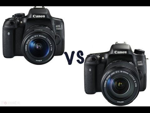 Canon 750D vs Canon 70D - YouTube