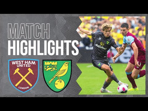 HIGHLIGHTS | West Ham United 2-0 Norwich City
