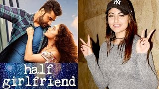 sonakshi sinha reaction on after watching half girlfriend movie