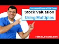 Stock Valuation Using Multiples | Corporate Finance | CPA Exam BEC | CMA Exam | Chp 8 p 5