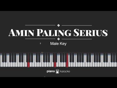 Amin Paling Serius - Sal Priadi & Nadin Amizah (KARAOKE PIANO COVER)