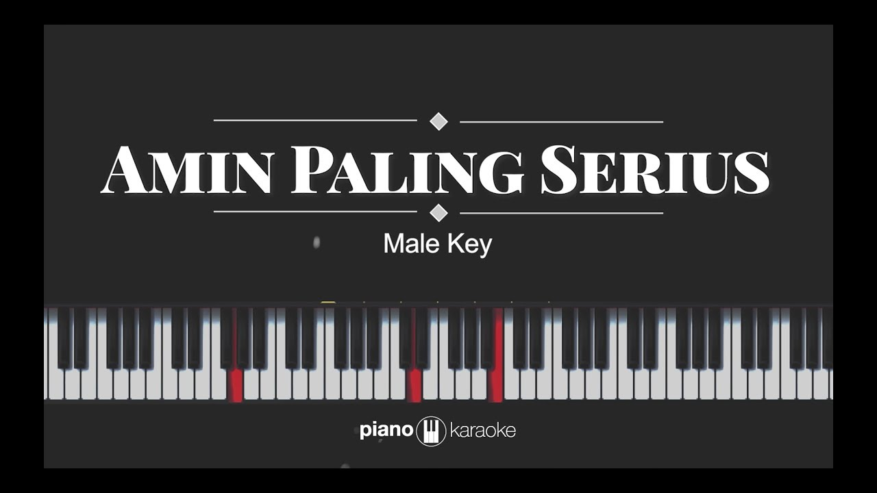 Amin Paling Serius Sal Priadi Nadin Amizah Karaoke Piano Cover Chords Chordify