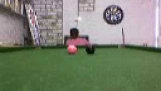 Funny Snooker miss