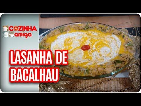 Lasanha De Bacalhau - Patricia Gonçalves | Cozinha Amiga (27/12/17)