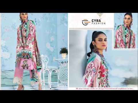 CYRA FASHION ALIZAH VOL 4 JAM COTTON WITH PATCH EMBROIDERY  WHATSAPP US ON  +91 8828391569