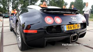 Bugatti Veyron 16.4 Start up + Drive by SOUND!!