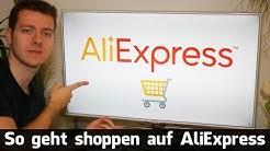 So geht shoppen auf AliExpress: Registieren & bezahlen - alles zur Bestellung (Deutsch)