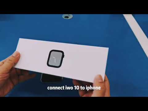 Connect SM IWO 10 Smartwatch To IPhones