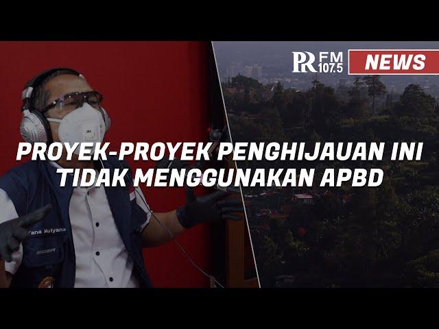 Pemkot Bandung dan Warga Gotong Royong Lakukan Penghijaun di Kawasan Bandung Utara