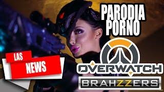"Brazzers anuncia parodia porno de Overwatch ""Las NEWS"" I Audio Latino I"